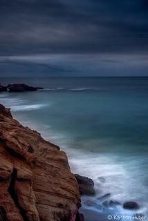 Laguna Beach - Above The Beach, Stormy Day