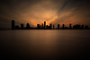 Jersey City Skyline at Sunset (Jemlnlx) Tags: canon eos 5d mark iv 4 5d4 5div ef 1635mm f4 is usm manhattan nyc new york city ny nj jersey hoboken tiffen bw 30 gnd nd graduated neutral density filter filters stacked long exposure sunset