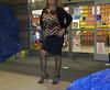 grocery shopping (Blonde Karyn Heels) Tags: crossdress public heels stockings stiletto capris anklet