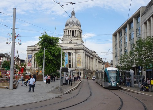 Tram Stop, Old Market Square, Nottingham