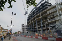 New Spurs ground construction, North London, September 2017 (sbally1) Tags: whitehartlane spurs tottenham tottenhamhotspur football premierleague london eps soccer footballstadium stadium construction