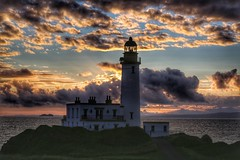 Turnberry Lighthouse revisited (alison2mcewan) Tags: ayrshire coastline clouds sky turnberry