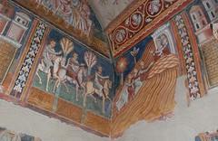 I messi imperiali si dirigono a Monte Soratte per incontrare Silvestro - Oratorio San Silvestro - Roma