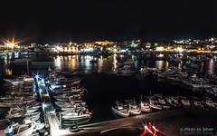 Lampedusa' s harbour by night (Silver_63) Tags: lampedusa sicilia mare italia notte