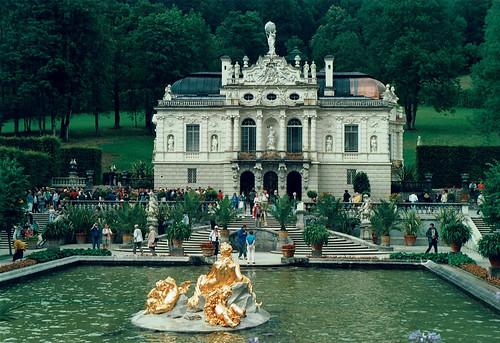 Linderhofin linna / Schloss Linderhof