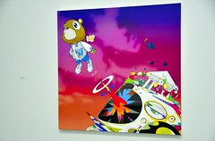 Graduation (jpellgen) Tags: murakami takashimurakami theoctopuseatsitsownleg chicago museum contemporaryart artmuseum gallery art japaneseart popart superflat 2017 september summer sigma nikon d7000 midwest 1770mm usa america downtown il illinois travel mca cmca music rap hiphop kanyewest 村上隆 kaikaikiki kaikai kiki mrdob skulls flowers tantanbo octopus jellyfisheyes graduation