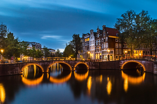 Leidsegraght Canal Bridge, Amsterdam