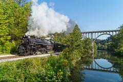 NKP 765 Brecksville, OH (Nolan Majcher) Tags: nkp 765 nickel plate road brecksville ohio oh cvsr cuyahoga valley scenic railroad