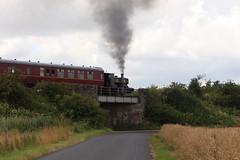 2017-07-30; 034. Barclay No 1863, 'Wee Barclay' (build 1926, Anglo-Scottish Sugar Beet co., Cupar). Bridge of Dun (Martin Geldermans; treinen, Züge, trains) Tags: caledonianrailway brechin bridgeofdun barclay 040 barclay1863 weebarclay steamlocomotive steamtrain steam stoomtrein stoom stoomlocomotief dampf dampfzüge dampflok