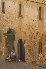 Medieval village of Pals, Spain (lucky e) Tags: pals spain village medieval costabrava cobblestone