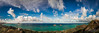 lanikai beach and mokulua islands panorama from pillbox trail in hawaii _DSC4599 (The Smoking Camera) Tags: lanikai kailua waimanalo makapuu mokulua islands beach flat marine corps base hawaii oahu hawaiian reef panorama pano clouds sky ocean pillboxes hike sony rx1r mirrorless landscape seascape kaneohe koolau flatisland mokuluaislands mcbh