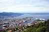 Bergen Norway Harbour from Atop Mt Floien DSC05429 (silver_pearl.geo) Tags: balticcruise bergen bergenharbor bergennorway mtfloien norway scandanavia vikingcruise