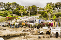 Paradise Cove Beach Cafe (joe Lach) Tags: paradisecove beachcafe restaurant beach sand trees surfboards drainage malibu california joelach