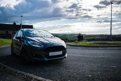 2016 Ford Fiesta & Landscape (smifyyy) Tags: 2016 ford fiesta zetecs stline st st180 zs125 zs140 st140 st125 125 140 magnetic grey gray sky landscape greenery scenery grass trees views far miles kilometers kilometres 2017 2018 2015 fordgofurther gofurther