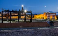 Wrocław I (Bless your life) Tags: poland polska wrocław architecture industry industrial city night longexposure blue hour