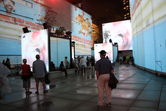 Plusieurs écrans (Multiple Screens) (JB by the Sea) Tags: montreal montréal quebec québec canada september2017 urban publicart videoinstallation expo67live quartierdesspectacles placedesarts nationalfilmboardofcanada expo67