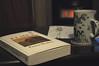 fireside reading (251/365) (werewegian) Tags: elmet fionamozley book fireside reading tea werewegian sep17 365the2017edition 3652017 day251 8sep17