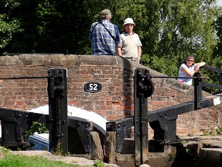 Bridge Number 52 and Shade House Lock. Staffordshire. Aug 2017