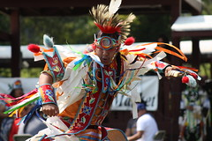 HIAM - Grass Dance 2 (D Johnston) Tags: lawrencekansas haskellindiannationsuniversity orange