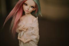 Phoenix <3 (*DollyLove*) Tags: minifee celine fairyland bjd doll resin msd bokeh canon 5dmkii love 50mm 14
