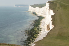 Seven Sisters Walk | Hazy August Bank Holiday-21 (Paul Dykes) Tags: southdownsway eastsussex sussex england uk sevensisters cliffs whitecliffs sea coastal seaside coast summerbankholiday augustbankholiday august 2017