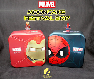 MARVEL Mooncakes 🌙🎂 2017