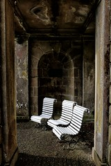Three Chairs (PeskyMesky) Tags: aberdeenshire haddohouse chair minimal scotland flickr house