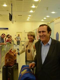 Michel Sogny Arrivée à Batumi Géorgie 31 Août 2017