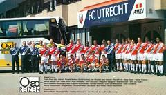 FC Utrecht (1996 - 1997) (poedie1984) Tags: fc utrecht stadium stadion galgenwaard 1996 1997 voetbal football eredivisie elftal foeke booy booij ronald spelbos jan wouters rene rené ponk hans visser stefan postma marcel van der net de stam peter hofstede john loen reagwich slijngard rob witschge dick burik gerrit klaassen druppers richard beekink leon nieuwkerk den brink reinier robbemond elroy asmus vincent polfliet erik eric smit errol refos david nascimento michael mols moestafa talha ferdino hernandez jean paul jeanpaul jong dries boussatta