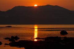Sunrise (jan.stefka) Tags: canoneos7d morning 2017 peljesac chorvatsko hrvatska mountains croatia drace ef100400 sea