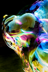 Bubble Abstract 3-0 F LR 9-3-17 J062 (sunspotimages) Tags: abstract artwork artistic bubble bubbles misc