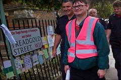 Daniel's walk for Grenfell - DSCF6343a (normko) Tags: london grenfell tower tragedy kensington daniel wood danielwood walk wolverhampton poem