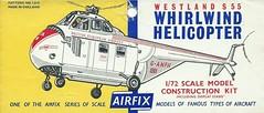 Airfix Kit - Westland Whirlwind (Faversham 2009) Tags: whirlwind westland scan airfix scanned document helicopter plastic model kit bea britisheuropeanairways ganfh