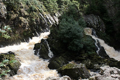 Conwy falls - Betws-y-Coed (Cumberland Patriot) Tags: betwsycoed betws y coed clwyd north wales cymru afon river conwy falls waterfalls water waterfall stream creek forest woods rock rocks rocky