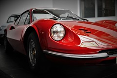 Dino (bLiCk-WiNkL) Tags: naturallight car auto oldtimer dino ferrari seldom rot fiat