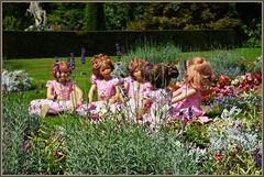 Lauschige Runde ... (Kindergartenkinder) Tags: schlossanholt dolls himstedt annette park kindergartenkinder sommer wasserburg annemoni margie sanrike tivi milina isselburg