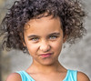 """17. """"A photograph is a secret about a secret. The more it tells you the less you know."""" (Lorrainemorris) Tags: curlyhair portrait naturallight bold funnyface child greeneyes"""