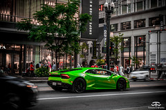 Lamborghini Huracan (TimelessWorks) Tags: spotted us usa united states america murica chicago car auto bil vehicle automobile automotive time less works timeless timelessworks tw photo foto photograph photography pic picture image shoot shot photoshoot supercar lamborghini huracan gallardo murcielago aventador lp green city town urban
