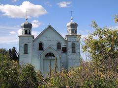 e peterson church 2 (Simon -n- Kathy) Tags: peterson saskatchewan sk ghosttown grainelevator ruraldecay prairie farm