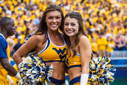Image result for west virginia cheerleaders