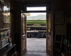 The View from the Office Door (powern56) Tags: westsomersetrailway wsr bishopslydeard flyingscotsman 60103 a3 steamlocomotive heritagerailway railway