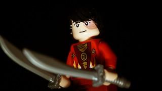 Lego Prince Zuko- Dual Dao