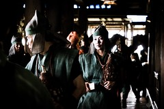Tenphosyur1 (Ka-merameha) Tags: people god event temple shrine power kyoto japan street human