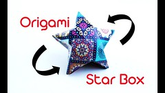 How To Make An Easy Origami Star Box ? | Creative Hand School (creativehandschool) Tags: how to make an easy origami star box | creative hand school