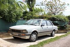 Peugeot 505 2.5D 1987 (DN-235-DR) (MilanWH) Tags: peugeot 505 25d 1987 dn235dr