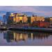 Morgengold (rafischatz... www.rafischatz-photography.de) Tags: dublin conventioncenter sunrise reflection