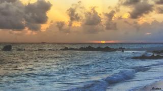 maldives blue hour
