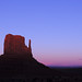 Navajo - Afterglow in Monument Valley