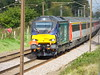 Each Express 2 at Ardleigh (dbidwell78) Tags: gs 68001 68034 each express greater anglia class 68 railtour railways ardleigh drs direct rail services