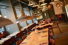 DSC_2364 (fdpdesign) Tags: pizzamaria pizzeria genova viacecchi foce italia italy design nikon d800 d200 furniture shopdesign industrial lampade arredo arredamento legno ferro abete tavoli sedie locali
